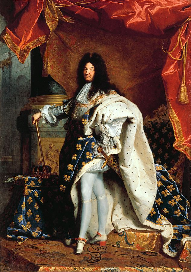 Louis XIV of France by Hyacinthe Rigaud, 1701