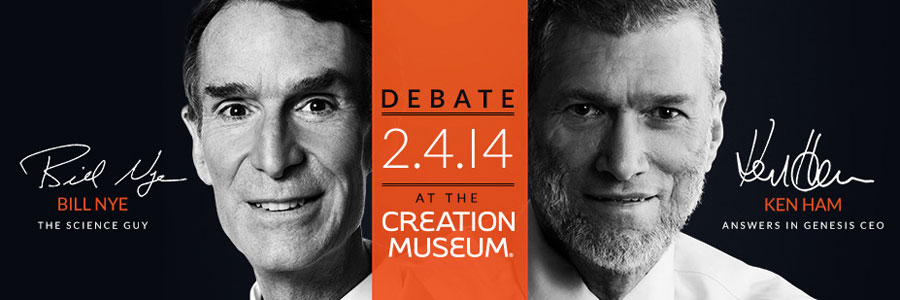 ken ham and bill nye debate | a little perspective