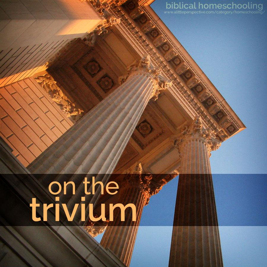 on the trivium