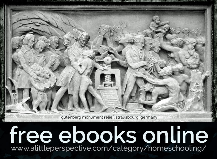 free ebooks online | biblical homeschooling at a little perspective