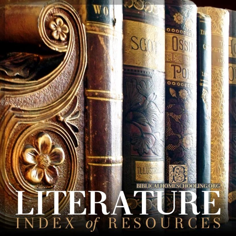 Literature Index | biblicalhomeschooling.org