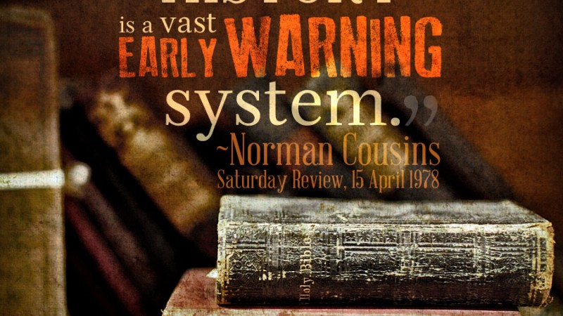 history, a vast early warning system