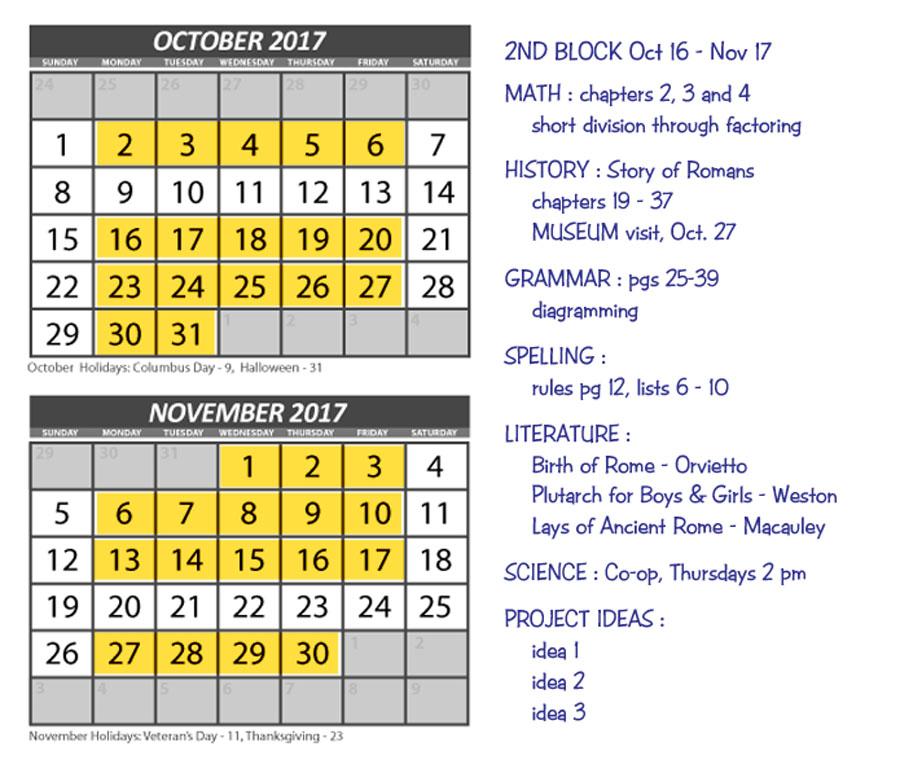 Big Picture Curriculum Planning | biblicalhomeschooling.org